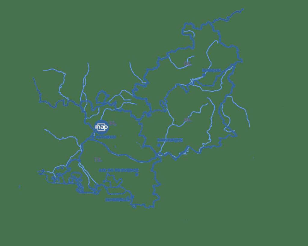 Map Monteux